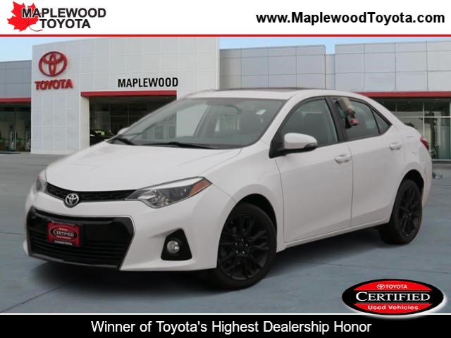 Certified Pre-Owned 2016 Toyota Corolla S w/Special Edition Pkg