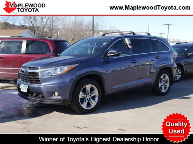 Pre-Owned 2015 Toyota Highlander AWD LTD V6