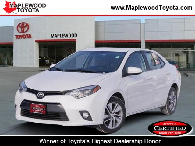 Certified Pre-Owned 2016 Toyota Corolla LE ECO Plus