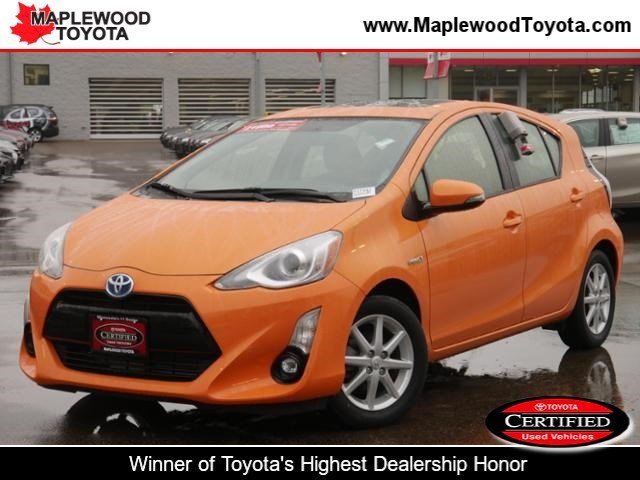 Certified Pre Owned 2015 Toyota Prius C Four 4dr Car In Maplewood