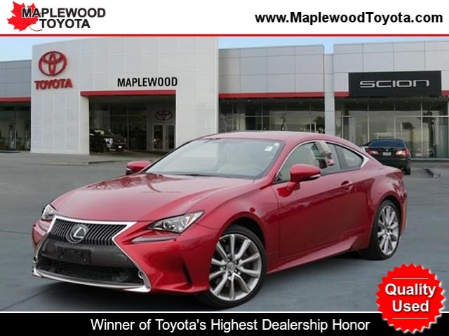 Pre Owned 2016 Lexus Rc 300 2dr Car In Maplewood P17684 Maplewood