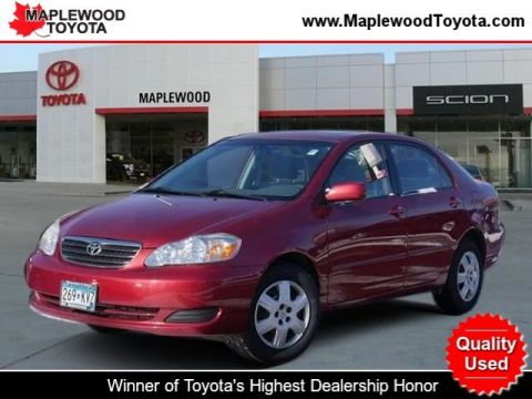 Pre-Owned 2006 Toyota Corolla LE 4dr Car