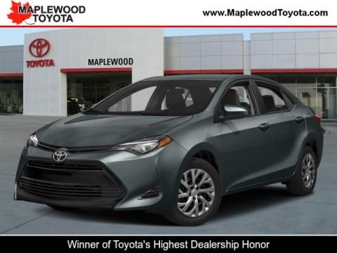 New 2018 Toyota Corolla LE 4dr Car