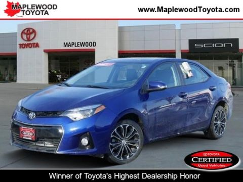 Certified Pre-Owned 2015 Toyota Corolla S Plus 4dr Car