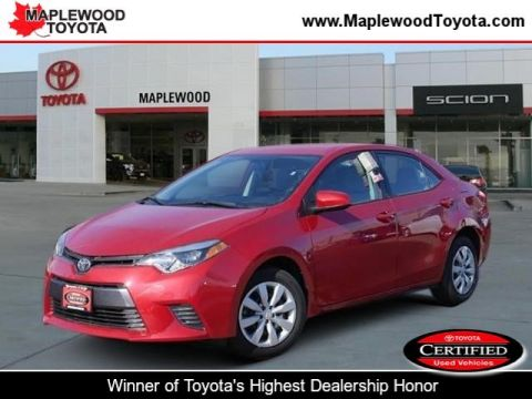 Certified Pre-Owned 2015 Toyota Corolla LE 4dr Car