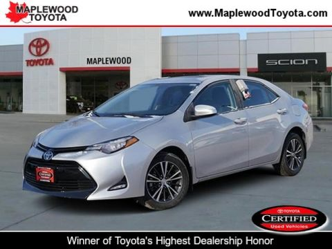Certified Pre-Owned 2017 Toyota Corolla LE 4dr Car