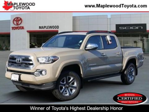 Certified Pre-Owned 2017 Toyota Tacoma Limited CrewMax