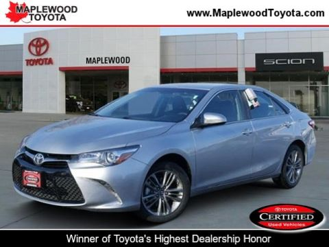 Certified Pre-Owned 2017 Toyota Camry SE 4dr Car