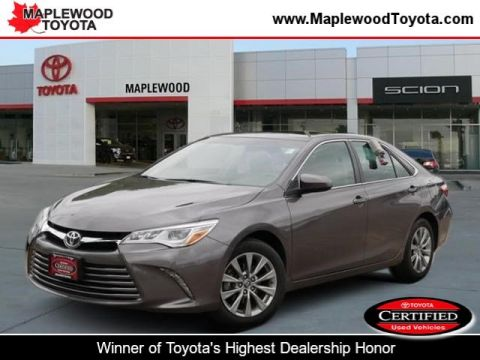 Certified Pre-Owned 2015 Toyota Camry XLE