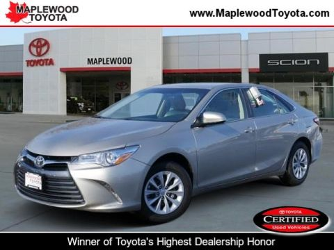 Certified Pre-Owned 2015 Toyota Camry LE 4dr Car