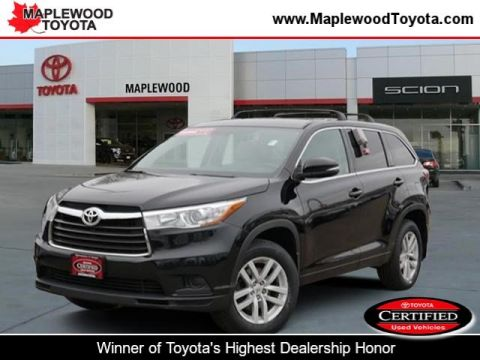 Certified Pre-Owned 2015 Toyota Highlander LE
