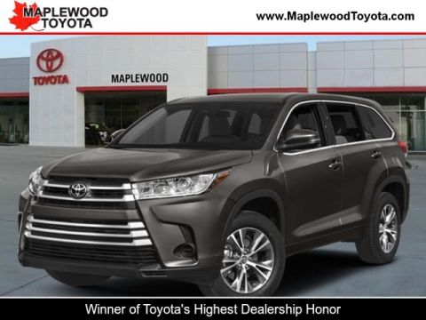 New Toyota Highlander In Maplewood Maplewood Toyota