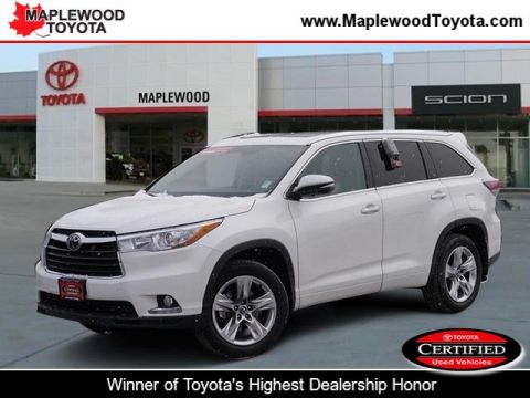 Certified Pre-Owned 2016 Toyota Highlander Limited Sport Utility