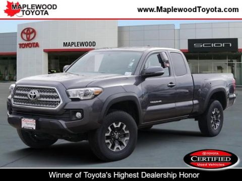 Certified Pre-Owned 2016 Toyota Tacoma TRD Off Road Extended Cab Pickup