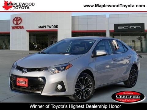 Certified Pre-Owned 2014 Toyota Corolla S Plus 4dr Car