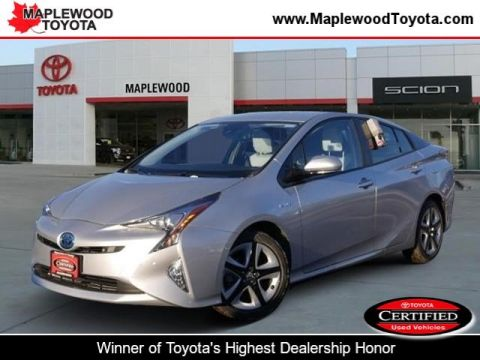 Certified Pre-Owned 2017 Toyota Prius Four Touring Hatchback