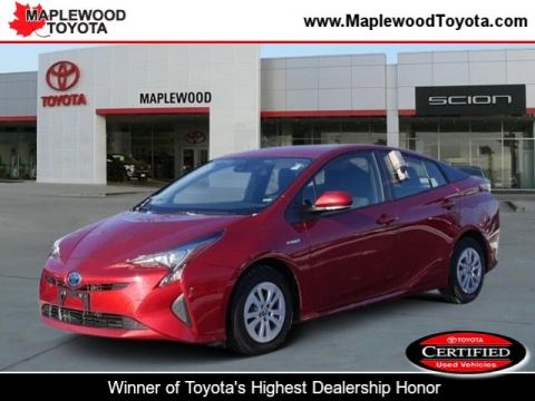 Certified Pre-Owned 2017 Toyota Prius Two Hatchback