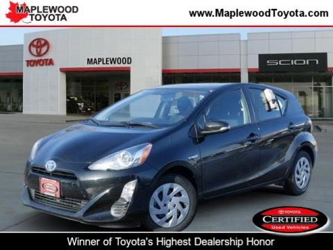Certified Pre-Owned 2016 Toyota Prius C Two Hatchback