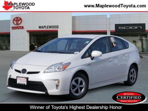 Certified Pre-Owned 2015 Toyota Prius Two Hatchback