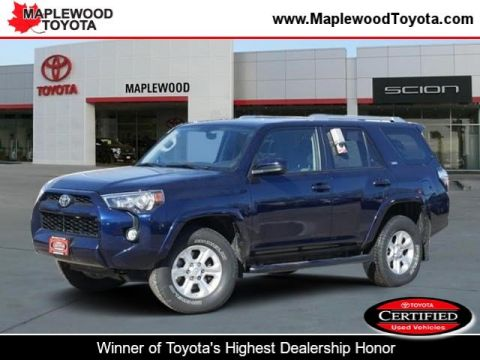 Certified Pre-Owned 2014 Toyota 4Runner SR5 Sport Utility