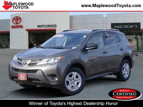 Certified Pre-Owned 2015 Toyota RAV4 LE Sport Utility
