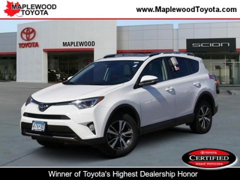 Certified Pre-Owned 2017 Toyota RAV4 XLE Sport Utility